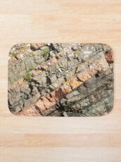 A slice of geology Bath Mat