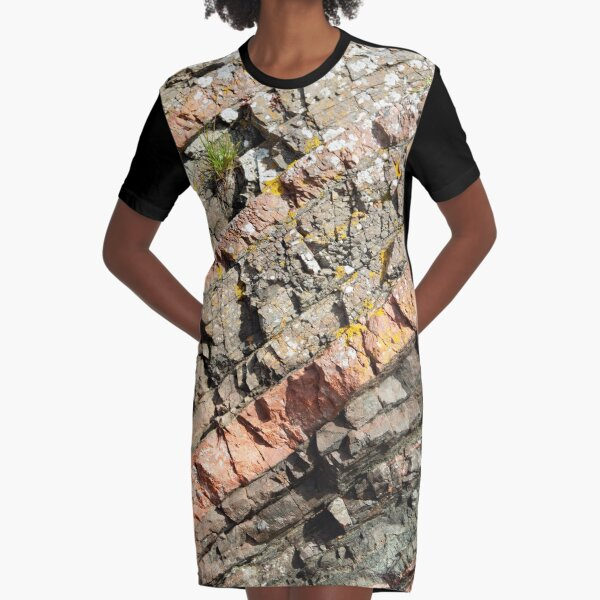 A slice of geology Graphic T-Shirt Dress