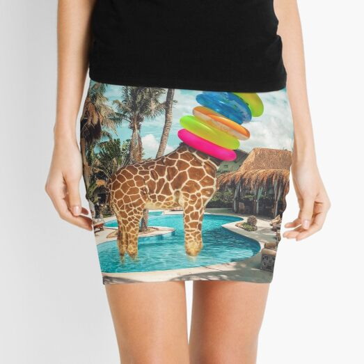 on holiday Mini Skirt