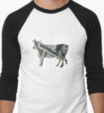 Cash Cow Men's Baseball ¾ T-Shirt