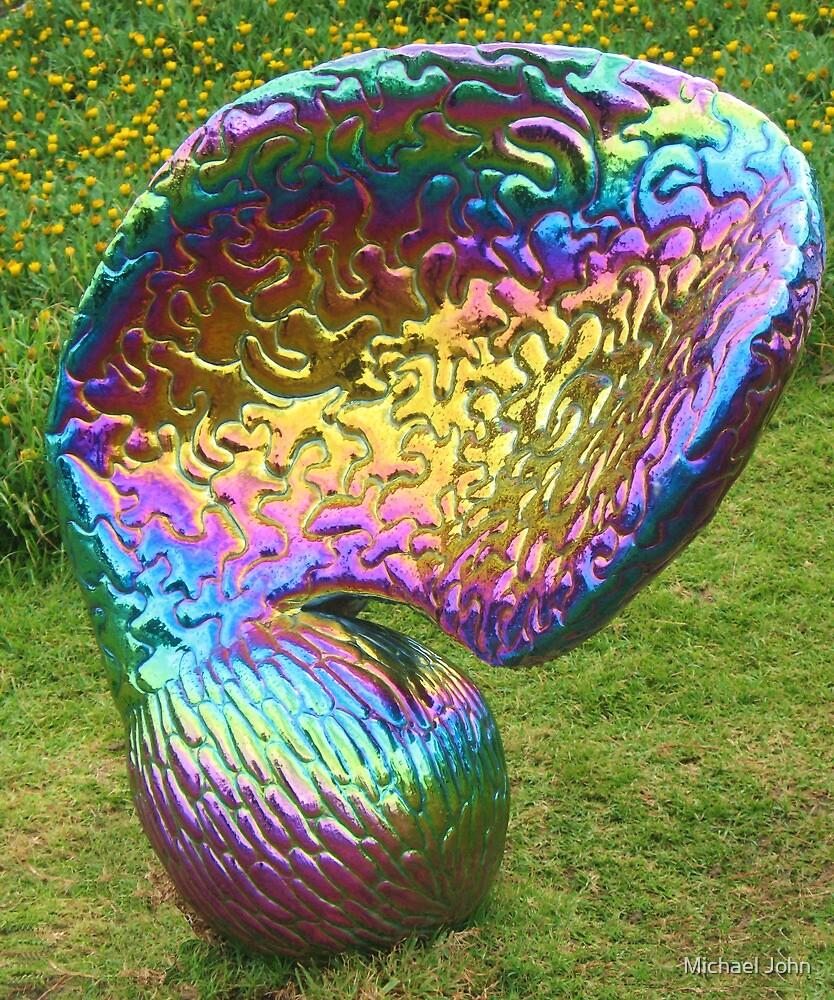Rainbow Seed by Michael John