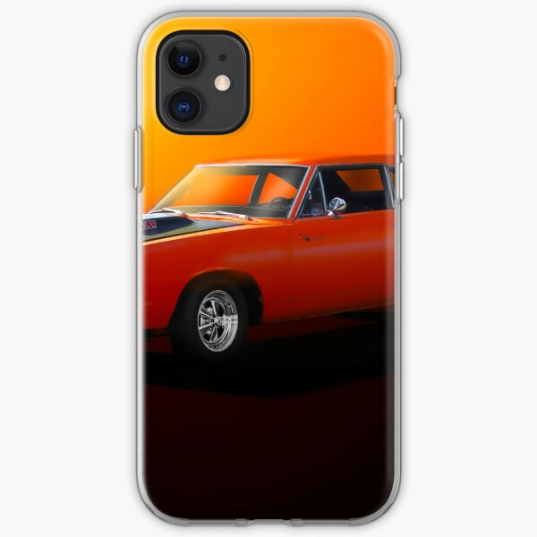 1969 Plymouth Roadrunner 440 iPhone Soft Case