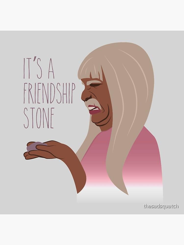 It's A Friendship Stone - Gentlemen Broncos by thesadsquatch