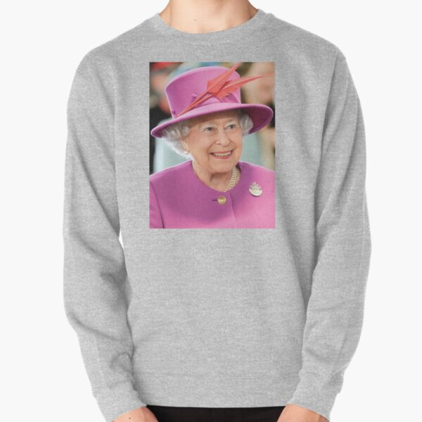 Queen Elizabeth II. Queen of the United Kingdom and the other Commonwealth realms. Pullover Sweatshirt