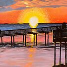 'SUNSET ON THE SOUND' by Jerry Kirk