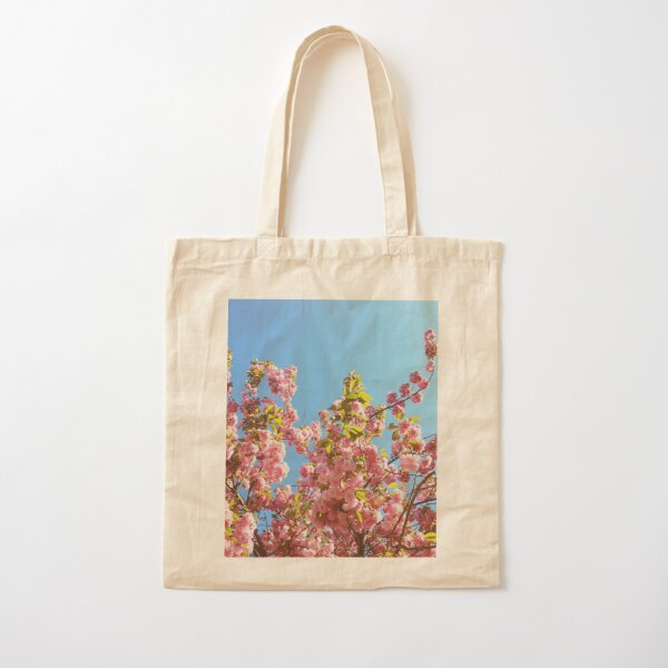 Floral Gift - Cherry Blossoms Photography - Gardener Present Cotton Tote Bag