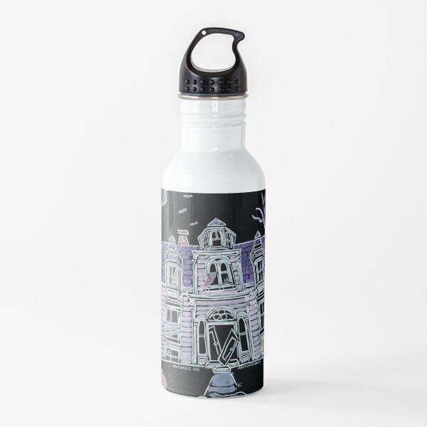 Spooky Haunted House - Lunenburg Nova Scotia  Water Bottle