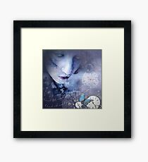 And I need just a little more silence Framed Print