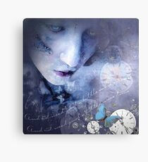 And I need just a little more silence Canvas Print
