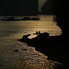 Halong Bay, Northern Vietnam by Kristi Robertson
