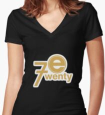 Parks and Rec: Entertainment 720 Women's Fitted V-Neck T-Shirt