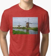 Ahh Yes The Netherlands  Tri-blend T-Shirt