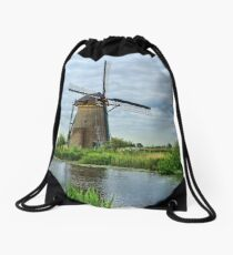 Ahh Yes The Netherlands  Drawstring Bag