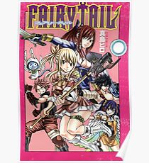 Fairy Tail Manga Cover Poster