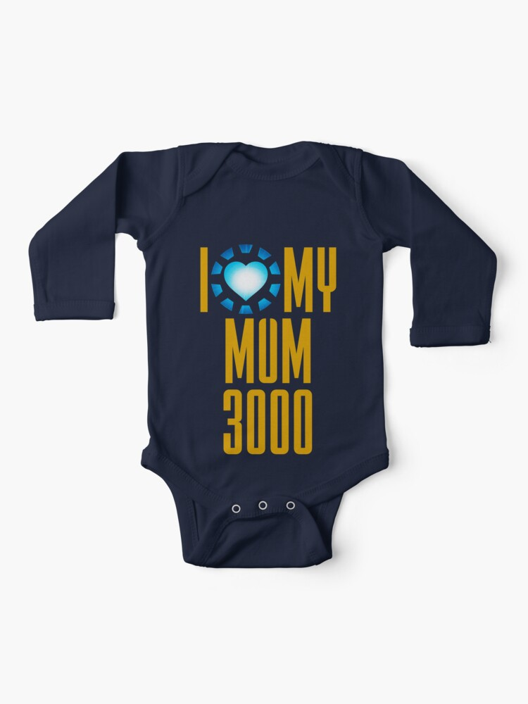 Superhero Movie Quote I Love You 3000 Baby Unisex Tee Shirt Mothers Day Gift for Fathers Day
