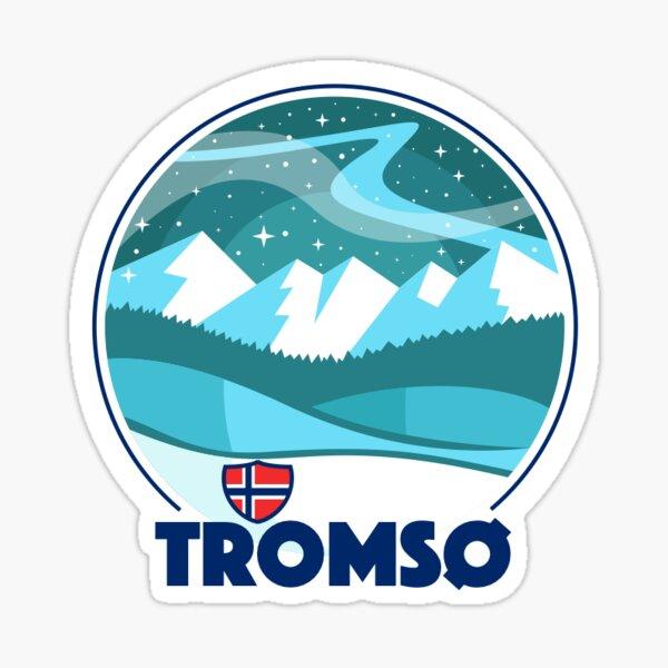 Tromsø Northern Lights Sticker