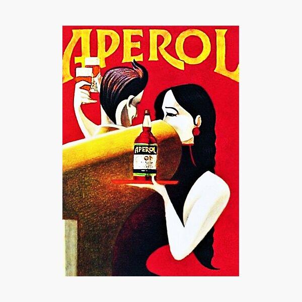 Vintage Italian Apero Aperitif Antico Lithograph Wall Art Photographic Print