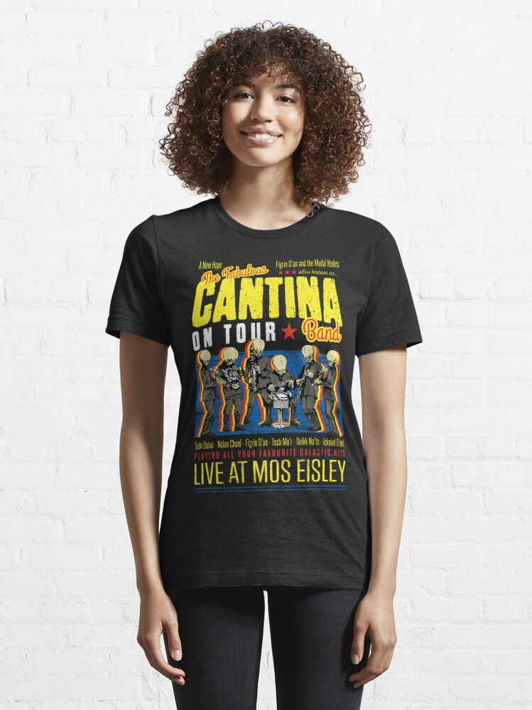 Alternate view of Cantina Band Essential T-Shirt