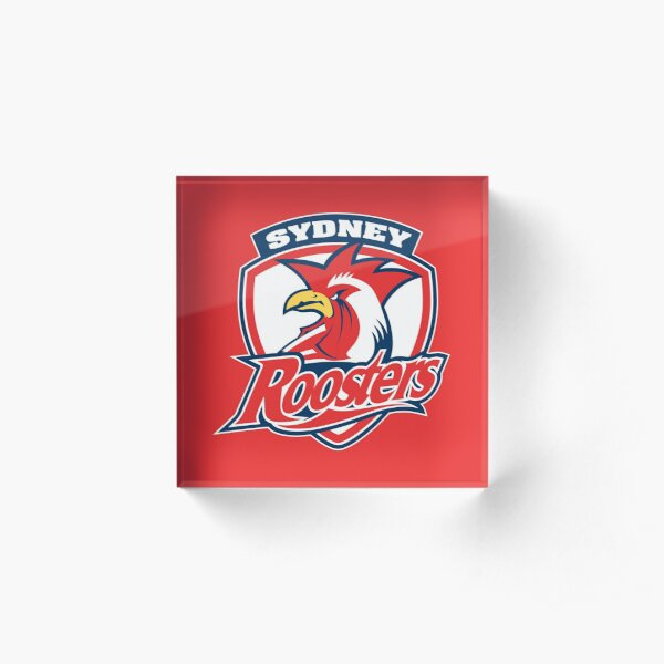 sydney roosters Acrylic Block