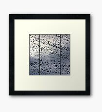 Rainy November Framed Print