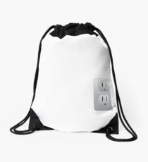 Electrical Outlet Drawstring Bag