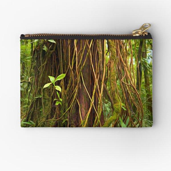 Forest Series: Big and beautiful - Costa Rican Rainforest Zipper Pouch