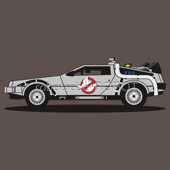 TShirtGifter presents: Ghostbusters To The Future!