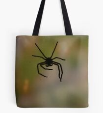 Horror on the window Tote Bag
