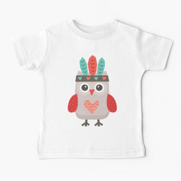 Hipster Owlet Baby T-Shirt