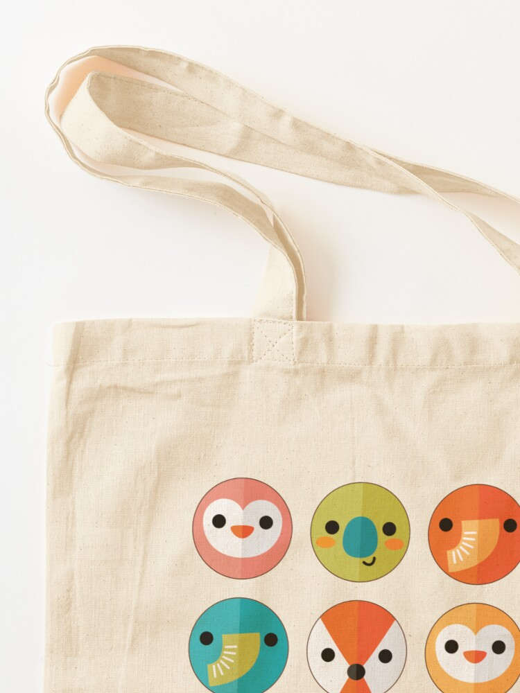 Alternate view of Smiley Faces Tote Bag