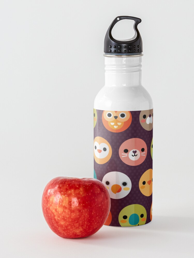 Alternate view of Smiley Faces Water Bottle