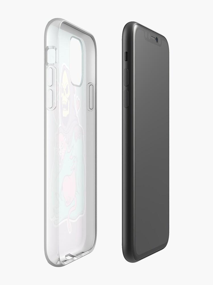 Alternate view of Skeletor's Cat iPhone Case & Cover
