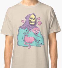 Die Katze des Skeletts Classic T-Shirt