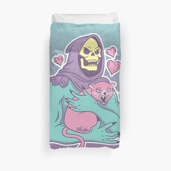 Skeletor's Cat Duvet Cover