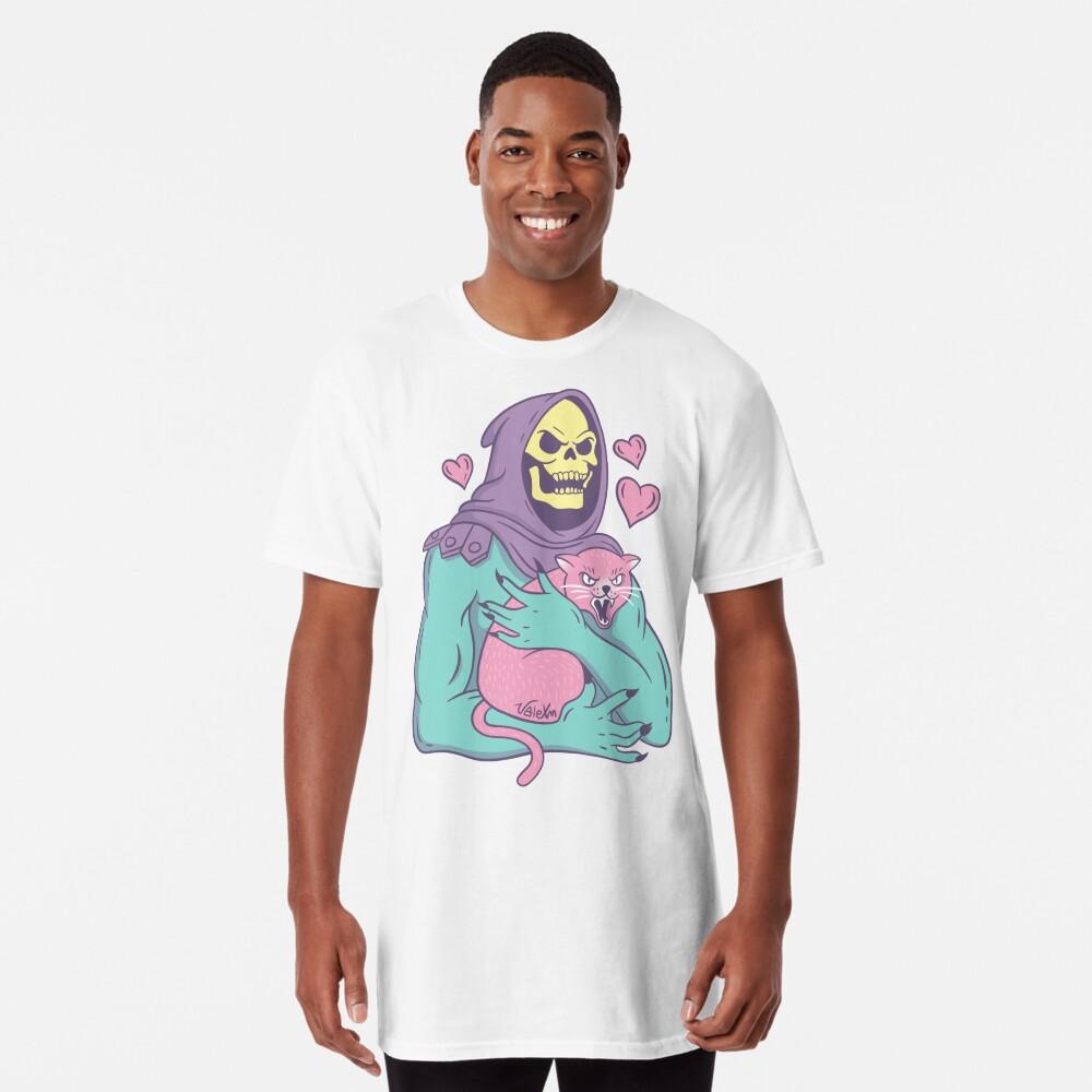 Skeletor's Cat Long T-Shirt