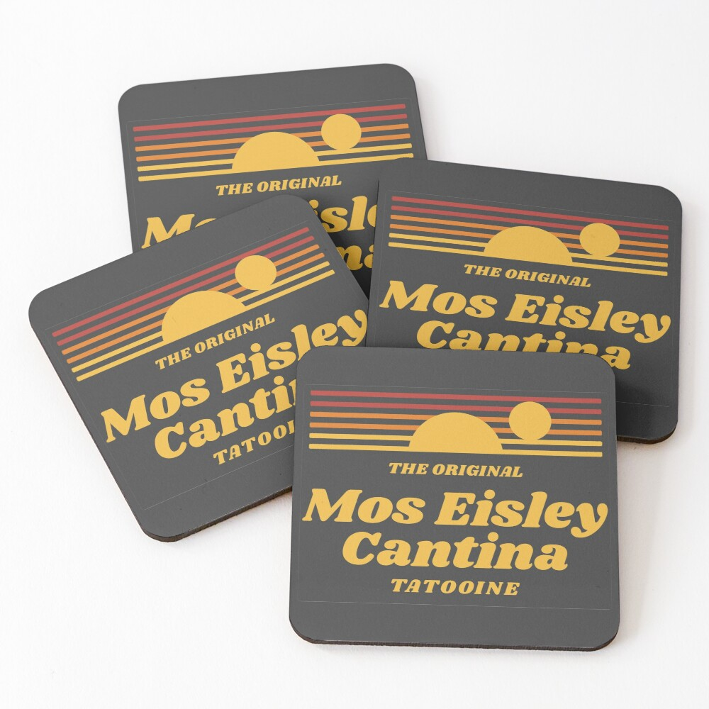 Moe Eisley Cantina Coasters (Set of 4)