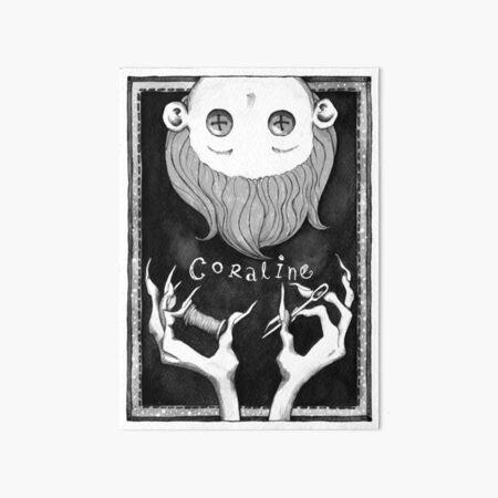 Coraline Art Board Print