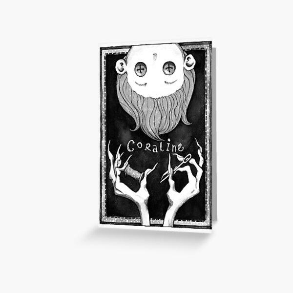 Coraline Greeting Card