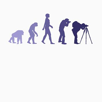 Purple Photographer Evolution by tiagogracio