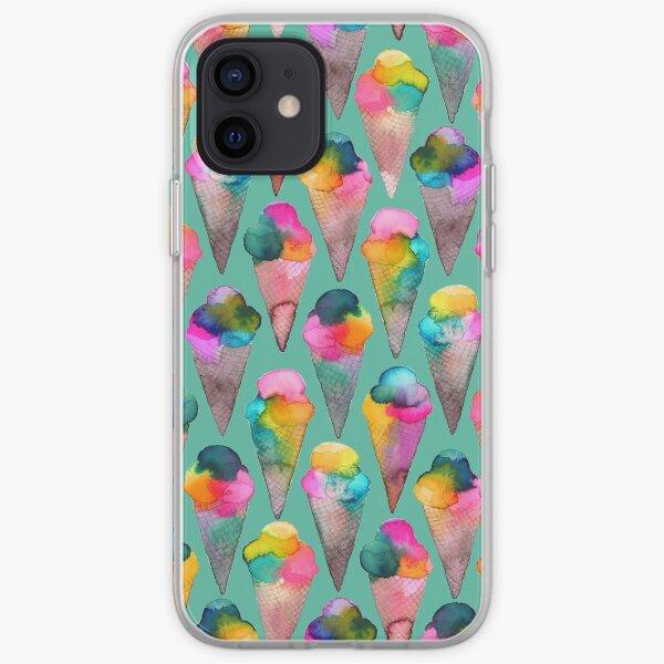 ice cream cones  iPhone Soft Case
