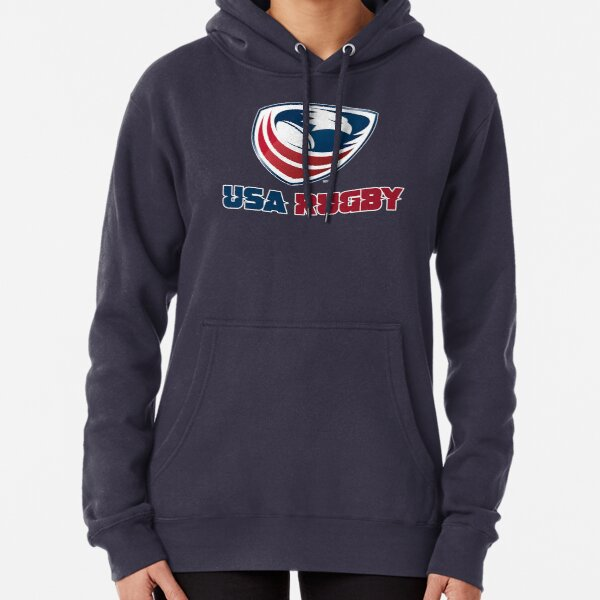 USA Rugby football Pullover Hoodie