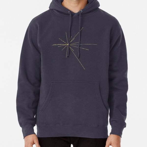Space Exploration Pulsar Map Voyager Pullover Hoodie