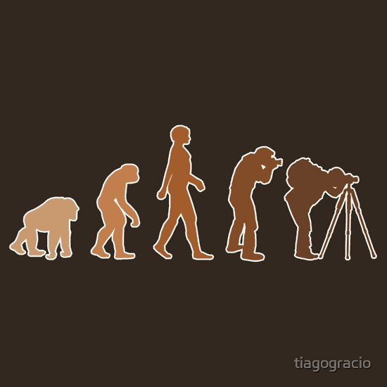 TShirtGifter presents: Earth Photographer Evolution