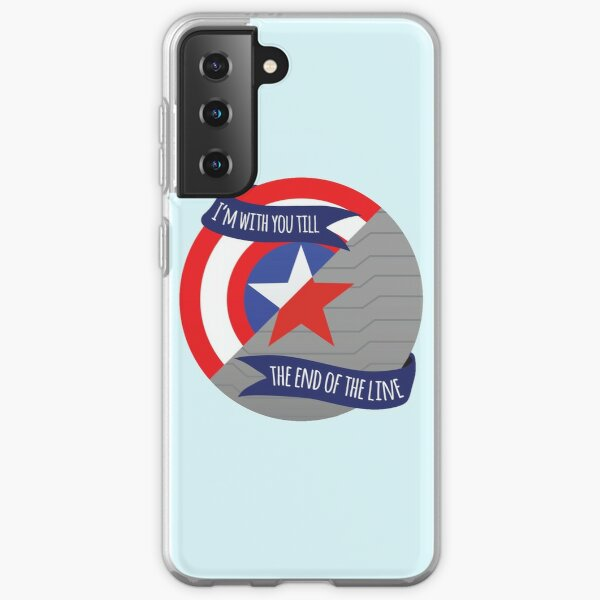 I'm With You Till the End Of The Line - Stevebucky Samsung Galaxy Soft Case