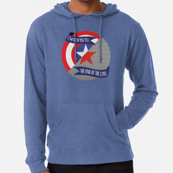 I'm With You Till the End Of The Line - Stevebucky Lightweight Hoodie