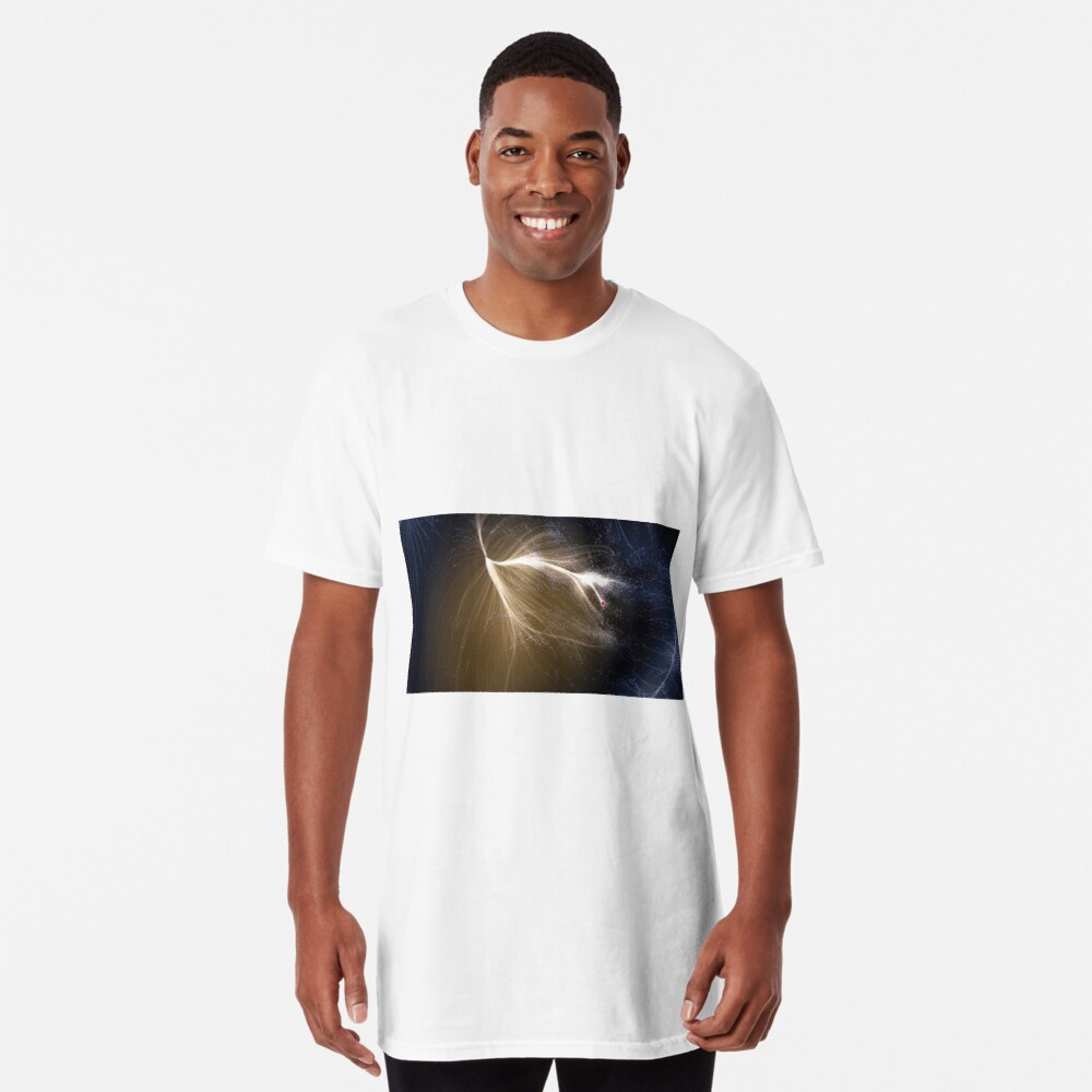 Laniakea Supercluster, Cosmology, Astrophysics, Astronomy, ssrco,long_t_shirt,mens,fafafa:ca443f4786,front,square_three_quarter,x1000-bg,f8f8f8