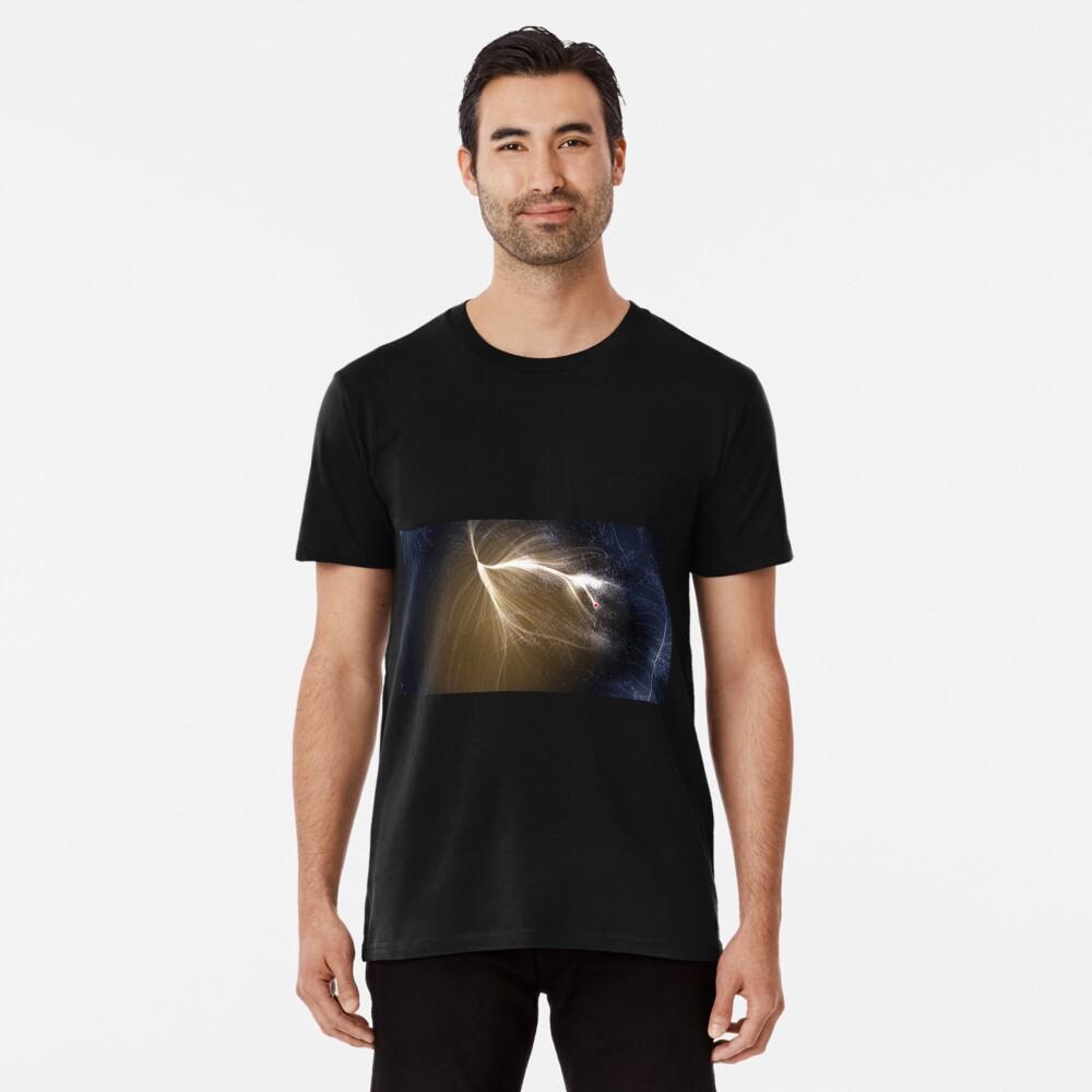 Laniakea Supercluster, Cosmology, Astrophysics, Astronomy, ssrco,mens_premium_t_shirt,mens,101010:01c5ca27c6,front,square_three_quarter,x1000-bg,f8f8f8