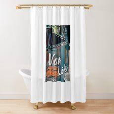 Vinatge Van Life Shower Curtain