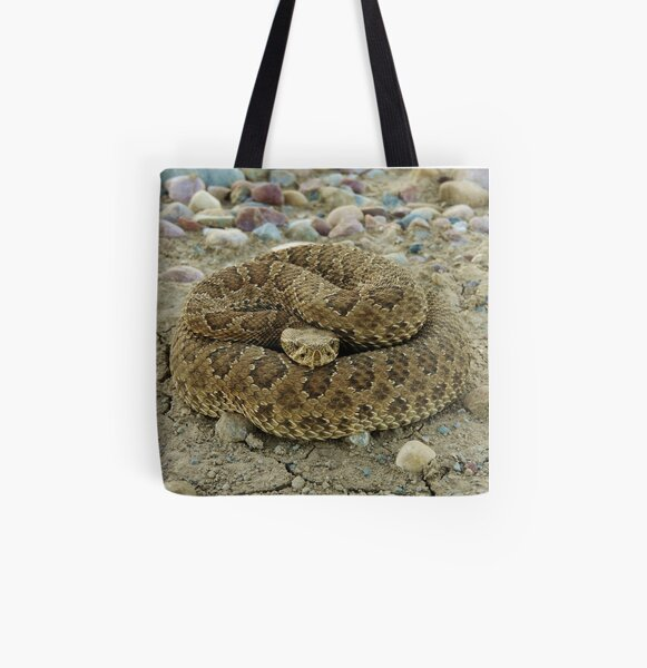 Coiled All Over Print Tote Bag