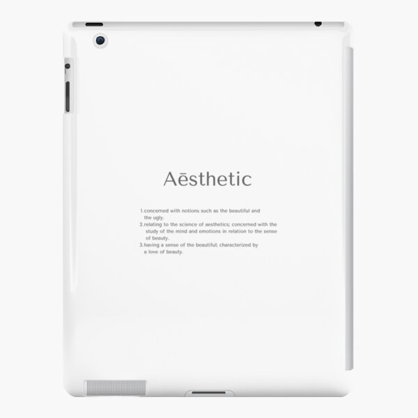 Aesthetic Definition Ipad Cases Skins Redbubble